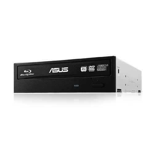 ASUS BLURAY Writer BW-16D1HT/BLK/B/AS, Bulk, černá