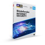 Bitdefender Internet Security 2020, 3 PC, 12 měsíců - (ESD)