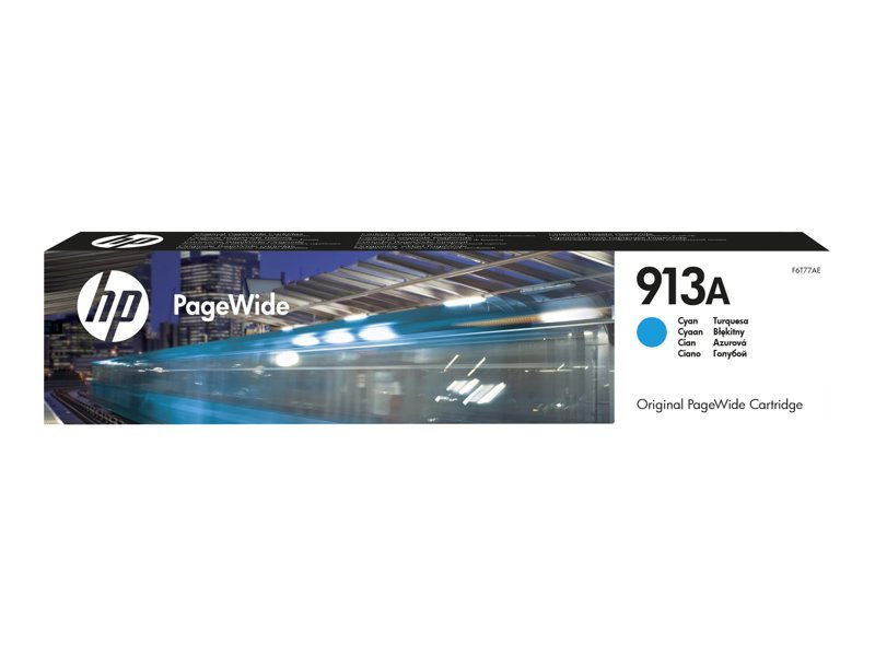 HP 913A Cyan Original PageWide Cartridge