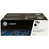 HP Toner 78A LaserJet Black 2-pack