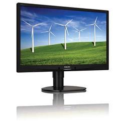 """Philips 241B4LPYCB/00 24"""" LED 1920x1080 20 000 000:1 5ms 250cd DP DVI USB repro PIVOT černý"""