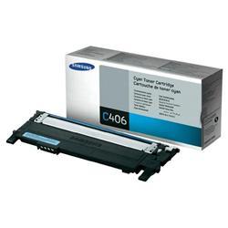 Samsung CLT-C406S Cyan tonerová kazeta pre tlačiarne CLP-360/CLP-365 CLX-3300/CLX-3305/ C410W C460W C460FW
