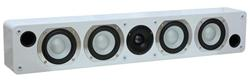 Taga Harmony PLATINUM LCR-60SL reproduktory bílé High Gloss