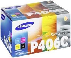 Samsung CLT-P406C/ELS Rainbow Toner Kit pre tlačiarne CLP-360/CLP-365 CLX-3300/CLX-3305/ C410W C460W C460FW
