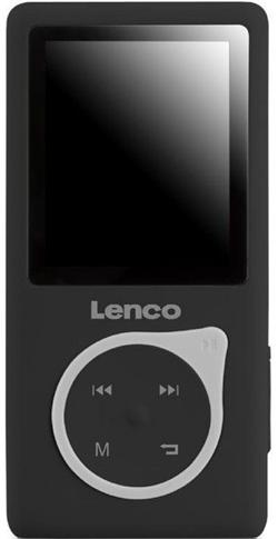 LENCO Xemio 657 - černý - MP3/MP4 přehrávač, 4GB + microSD slot