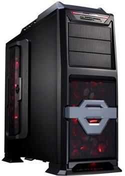 Eurocase ML 9801 X-Cooling, USB, card reader, černá, bez zdroje