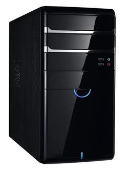 Eurocase Micro MC-41, mATX, bez zdroje, černá