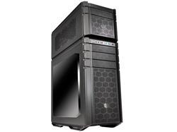CoolerMaster case bigtower HAF Stacker 935, ATX, USB3.0, bez zdroje, průhl. bočnice, černá, prach. filter, ALU
