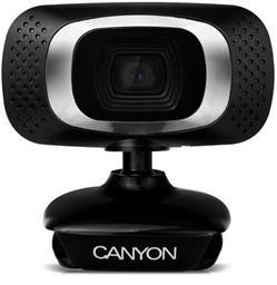 CANYON 1080P Full HD webová kamera, USB2.0, otočná o 360°