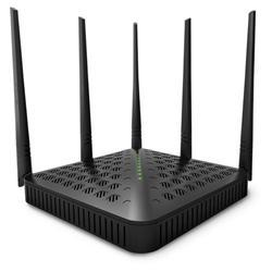 Tenda FH1202 Wireless-AC router 1200Mbps (3x LAN, 1x WAN), 5x5dbi fix.ant, HiPower, UniRepeater