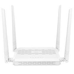 Tenda FH330 Wireless-N router 300Mbps (3xLAN, 1xWAN), 4x5dBi fix.ant. HiPower, wisp