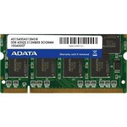 ADATA DDR 512MB SODIMM 400MHz CL3 - tray balení