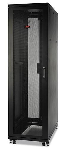 Rack NetShelter SV 42U 600mm Wide x 1060mm Deep Enclosure with Sides, Black, Single Rack Unassembled