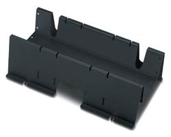 NetShelter Shielding Trough 600mm wide Black