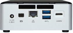 "INTEL NUC Rock Canyon/Kit NUC5i7RYH/i7 Core 5557U,3.1GHZ/DDR3L1600/USB3.0/LAN/WifFi/HD6100/2,5""/M2"
