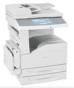 Lexmark X862de3, mono laser MFP, 2400IQ, 45ppm, 256 MB, DUPLEX, LAN