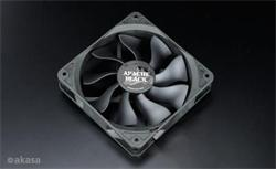 AKASA AK-FN058, 120mm smart 4 pin, PWM contolled fans, super tichý, čierny