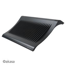 """AKASA AK-NBC-03-BK GEMINI chladič pre notebook 15.4"""", čierny"""