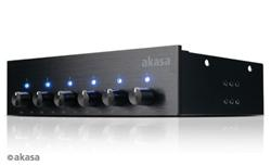 AKASA FC.SIX - regulátor ventilátorov