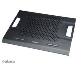 """AKASA AK-NBC-31BK Helix chladič pre notebook do 17"""", čierny"""