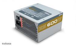 Akasa 600W zdroj, Active PFC