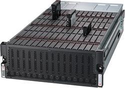 "SUPERMICRO 4U JBOD Storage, 90x 3,5""/2,5"" HS bay SAS3 12Gb/s, 4x CRPS Redundant 1000W Titanium"