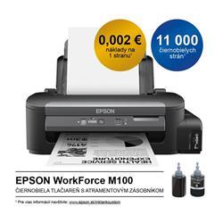 Epson WorkForce M100, A4 mono tlaciaren, USB, LAN