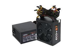 Zdroj 600W, ECO+87 ATX-600WA-14-85(87), APFC, eff. 87, 14cm fan, bulk
