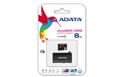 ADATA 8GB Micro SD SDHC with OTG micro Reader