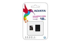ADATA 16GB Micro SD SDHC class 4 with USB Card Reader V3 Black