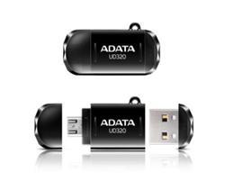 ADATA flash disk 32GB UD320 OTG USB 2.0 micro USB černý