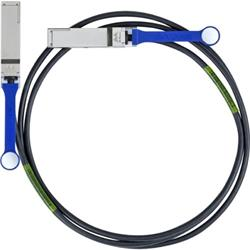 Mellanox passive copper cable, VPI, up to 56Gb/s, QSFP, LSZH, 0.5m
