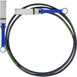 Mellanox passive copper cable, VPI, up to 56Gb/s, QSFP, LSZH, 1m