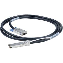 Mellanox passive copper hybrid cable, ETH 10GbE, 10Gb/s, QSFP to SFP+, 2m