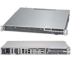 "SUPERMICRO 1U server 1x LGA1151, iQ170 (i7), 4x DDR4 NonECC, 2x 2.5"" Fix SATA, 400W (80+ Platinum), IPMI"