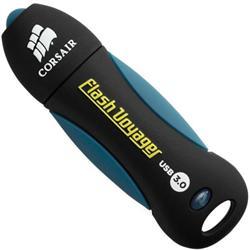 Corsair Flash Voyager USB 3.0 128GB, gumový povrch, voděodolný, 190/60MB/s
