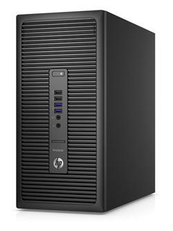 HP ProDesk 600 G2 MT, i3-6100, IntelHD, 4GB, 500GB, DVDRW, KLV+MYS, W10Pro-W7Pro, 3y