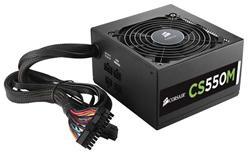 Corsair PC zdroj 550W CS550M semi-modulární 80+ Gold 120mm ventilátor