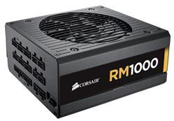 Corsair PC zdroj 1000W RM1000 modulární 80+ Gold 140mm ventilátor