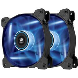 Corsair ventilátor Air Series AF120 LED Blue Quiet Edition, 2x 120mm, 25dBA, Twin pack