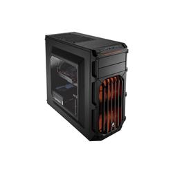 Corsair PC skříň Carbide Series™ SPEC-03 ORANGE LED Mid Tower Gaming, větrák 120mm