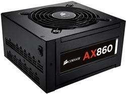 Corsair PC zdroj 860W AX860 modulární 80+ Platinum 120mm ventilátor