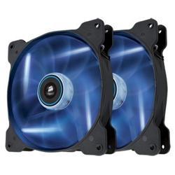 Corsair ventilátor Air Series SP140 140mm, 3pin, modrý LED, twin pack