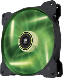 Corsair ventilátor Air Series SP120 120mm, 3pin, zelený LED