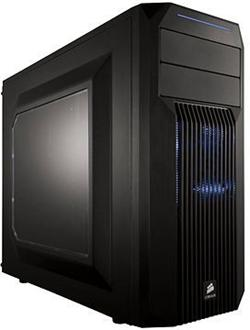 Corsair PC skříň Carbide Series™ SPEC-02 Blue LED Mid Tower Gaming, větrák 120mm