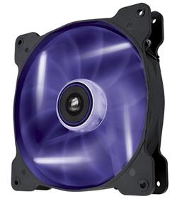 Corsair ventilátor Air Series SP140 140mm, 3pin, fialový LED