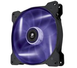 Corsair ventilátor Air Series AF140 LED Purple Quiet Edition, 140mm, 25dBA, Single pack