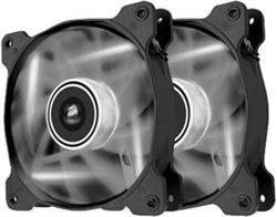 Corsair ventilátor Air Series SP140 140mm, 3pin, bílý LED, twin pack