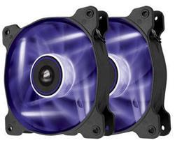 Corsair ventilátor Air Series SP140 140mm, 3pin, fialový LED, twin pack