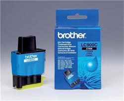 Brother LC-900C, cartridge azurová (400 str.)